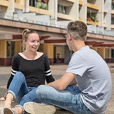 Gespräch Jugendliche